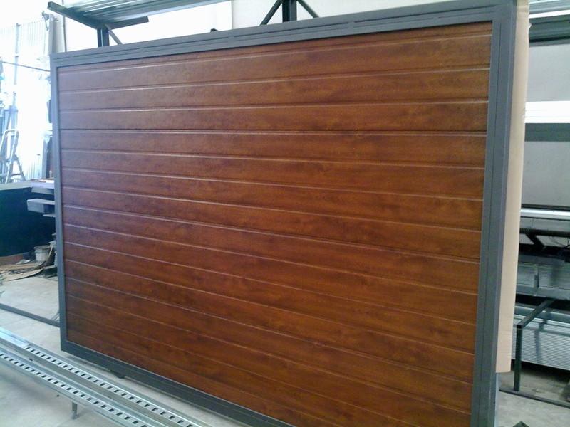 Isbematic correderas for Paneles de aluminio para puertas